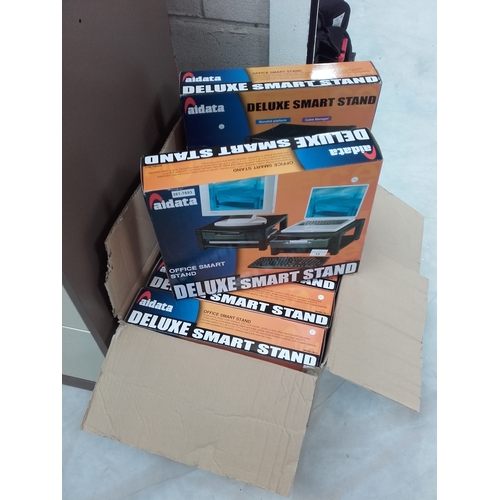 13 - 8 brand new in boxes deluxe smart stands...