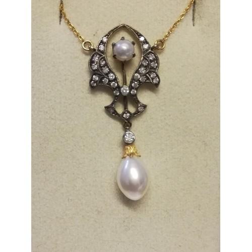16 - Art Nouveau style necklace (16