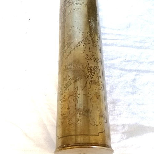 138 - WWI shell case (14