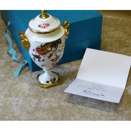149 - A Coalport Limited Edition Silver Jubilee