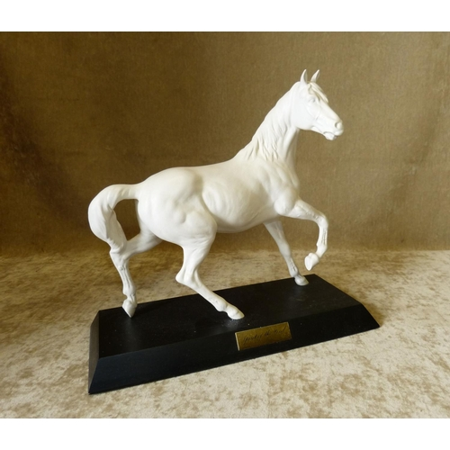 2 - A Royal Doulton White China Figure of a Stallion
