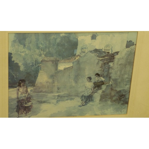 212 - 5 x Various Russell Flint Coloured Prints, all in gilt frames, largest 28cm x 35cm...