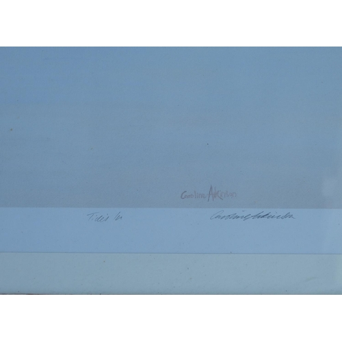 248 - Caroline Atkinson Signed Limited Edition Coloured Print