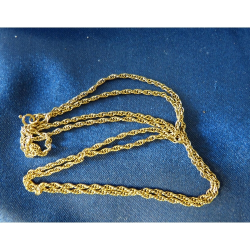 430 - A Gold Thin Chain, 4gms...