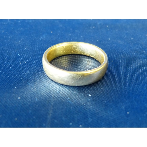 449 - A 22ct Gold Wedding Ring, 8.5gms...