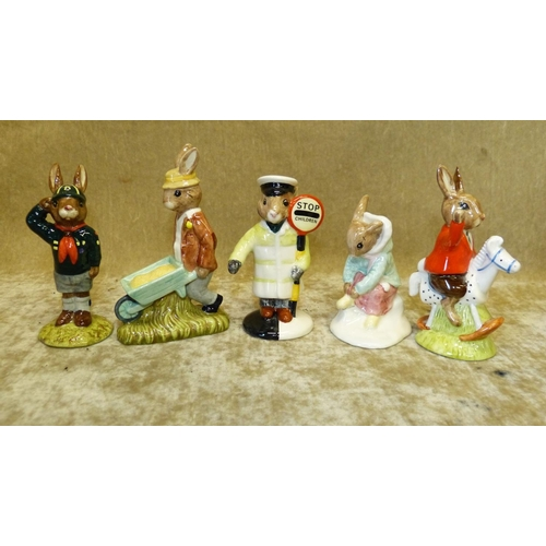 53 - 5 Royal Doulton Bunnykins Figures