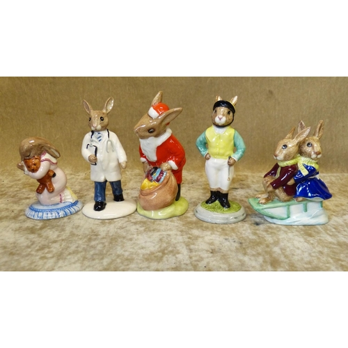 54 - 5 Royal Doulton Bunnykins Figures