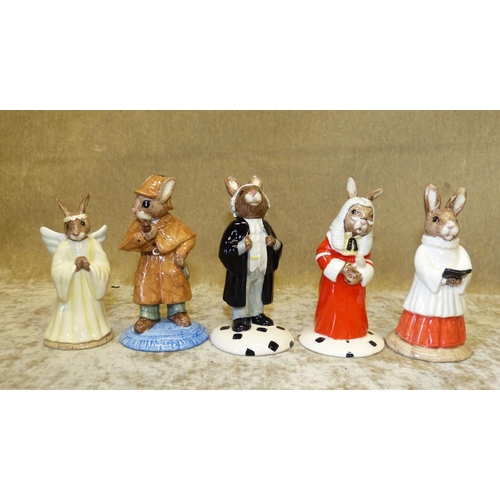 58 - 5 Royal Doulton Bunnykins Figures