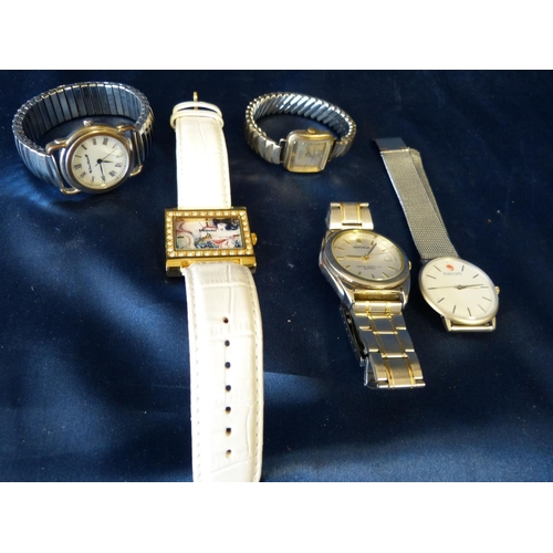 585 - 5 Various Modern Wrist Watches...