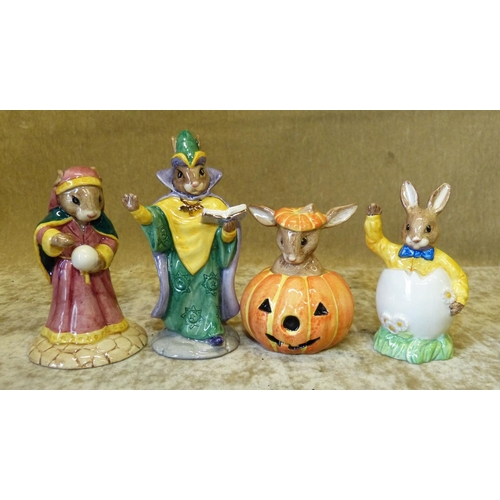59 - 4 Royal Doulton Bunnykins Figures