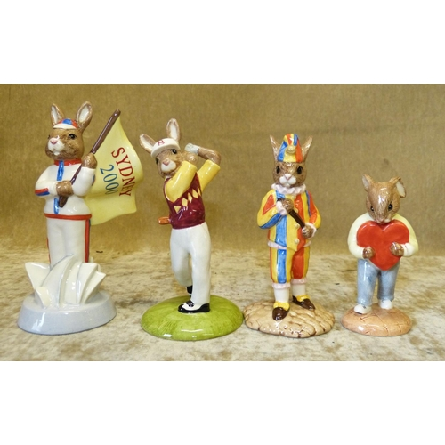 60 - 4 Royal Doulton Bunnykins Figures