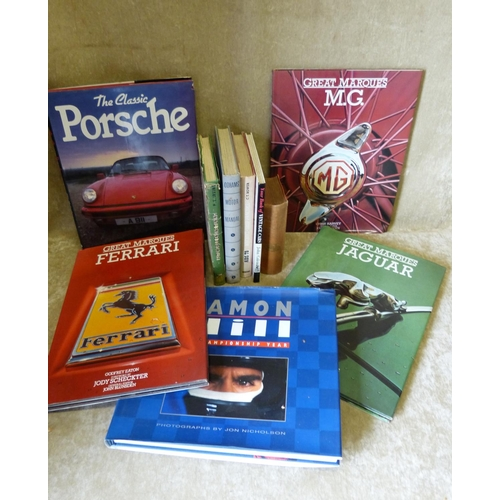 690 - A Large Quantity of Various Motor Racing Books