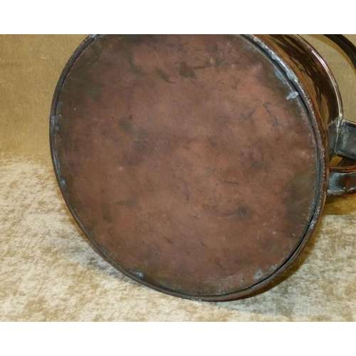 768 - A Bulpitt & Sons, Birmingham Copper Large Jug having swing overhead handle, 24cm high...