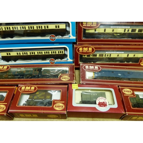 774 - Aifix GMR Caerphilly Castle Locomotive with tender boxed, also Airfix GMR 31401 Locomotive, an Airfi...