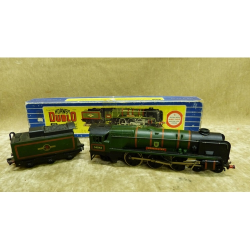 784 - A Hornby Dublo 3235 West Country Locomotive