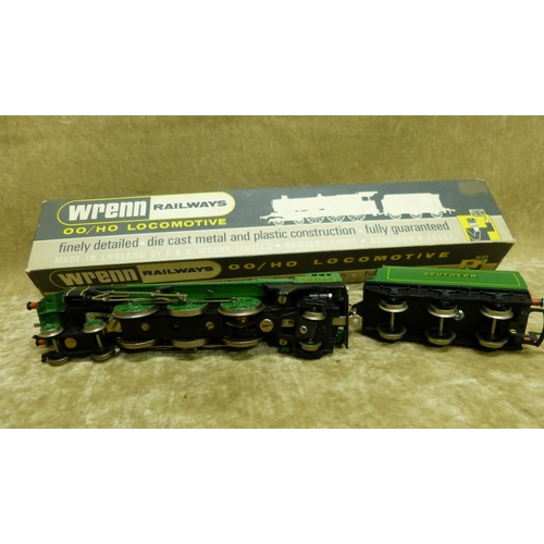 790 - A Wren 00 Gauge Locomotive W2237 4-6-2 West Country Southern, boxed...