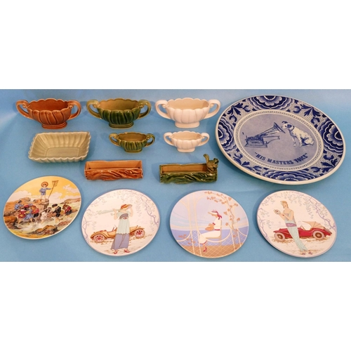 7 - A Modern Delft Blue and White Plate