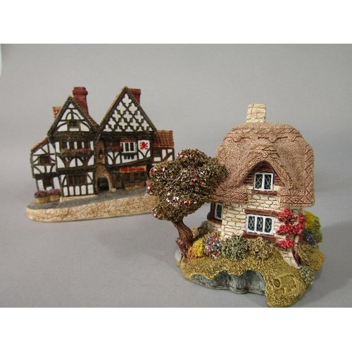 15 - A quantity of Lilliput Lane model buildings including cottages from the Blaise Hamlet collection,the...