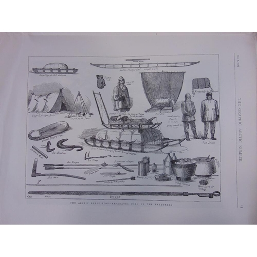 655 - The Graphic Arctic Expedition issue of 1876,(incomplete),together with The Illustrated London News,e...