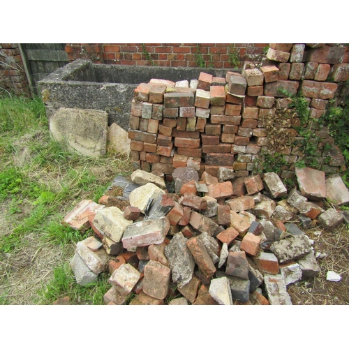 407 - Quantity of handmade and other bricks...