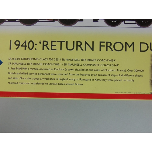 14 - Hornby 'Return from Dunkirk' Train Pack (limited edition), includes SR 0-6-0T Drummond class 700 '32...