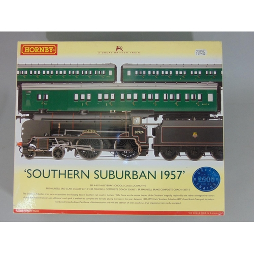 2 - Hornby 'Southern Suburban 1957' R2815 Train Pack. with original box, packaging and certificate...