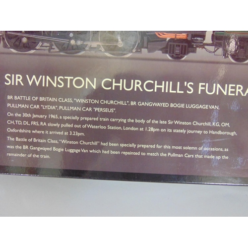 3 - Hornby 'Sir Winston Churchill's Funeral' 00 gauge Train Pack R3300, with original box and packaging,...