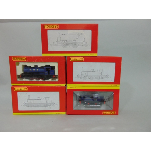 25 - 5 boxed Hornby Locomotives R3292, R3482, R2443, R2151 and R2679 all with original packaging (5)...