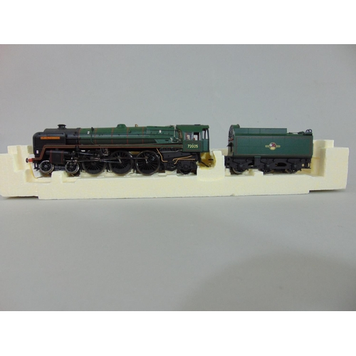 46 - Hornby R2925 BR 4-6-2 Clan Class Locomotive 'Clan MacGregor' 72005, boxed with original packaging (1...