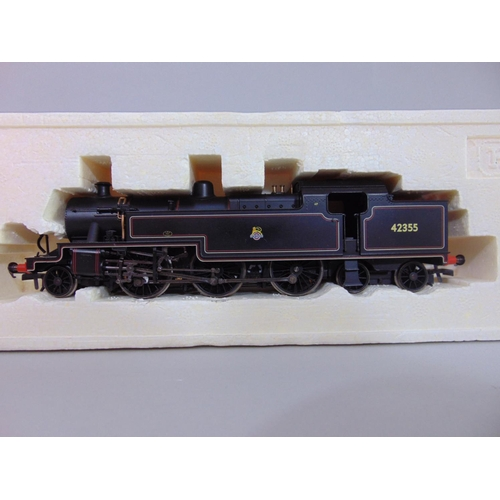 47 - 2 Hornby Locomotives: R3029 BR 4-4-0 Class 2P '45' and R2223 BR Fowler 2-6-4T Class 4P '42355', both...
