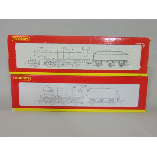49 - 2 Hornby Locomotives with tenders: R3030 LMS Fowler 0-6-0 Class 4F '4312' and R2202 BR 2-8-0 class 2...
