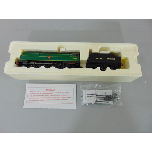 50 - Hornby Locomotive R2685 BR 4-6-2, 1948 Nationalisation West Country Class '34006 Bude', boxed with o...