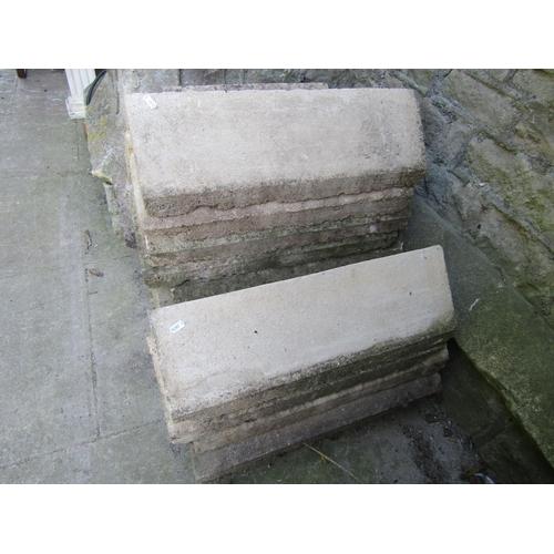 2027 - 25 composition stone ridge tiles, mainly 61 cm long, some AF...