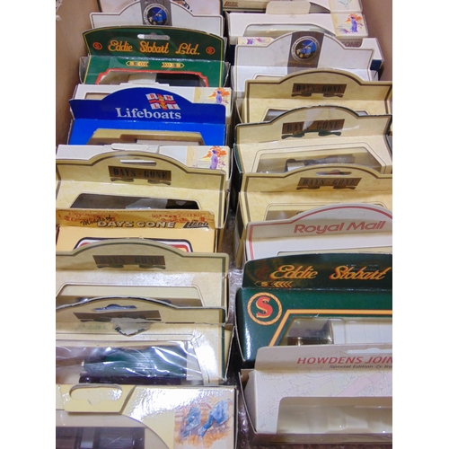 18 - Collection of boxed model vehicles including 2 Corgi Tramway, a Corgi Original Omnibus, others by Ll...