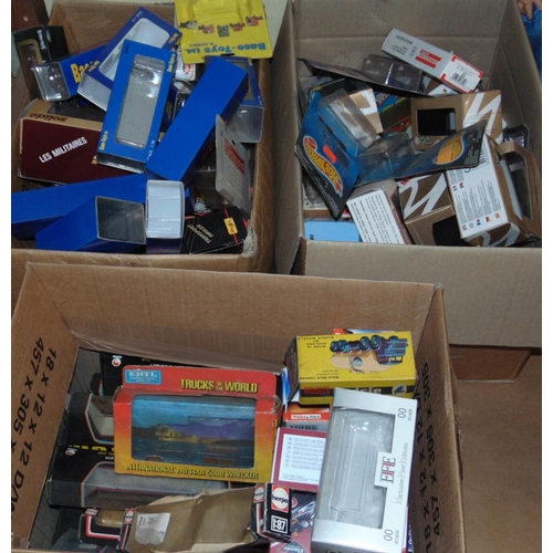 20 - Large collection of unboxed model vehicles, mostly trucks, articulated lorries and tankers by EFE, E...