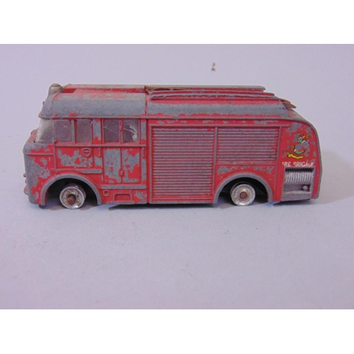 34 - Collection of 17 unboxed fire engines by Lesney, Days Gone, Corgi Juniors,  Dinky fire engine (playw...