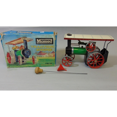 36 - Mamod Traction Engine T.E.1A in original box...
