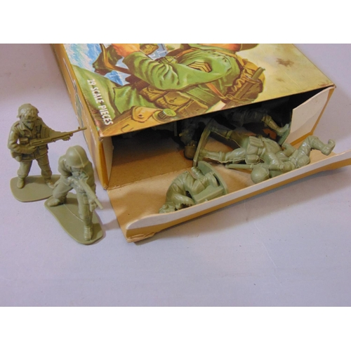 44 - 6 Airfix Military Series model boxed figure sets including Russian, Japanese and American Infantries...