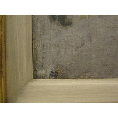 534 - Bernard Dunstan (1920-2017) - 'Sunday in the Prado', monogrammed B.D., titled by the artist verso, o...