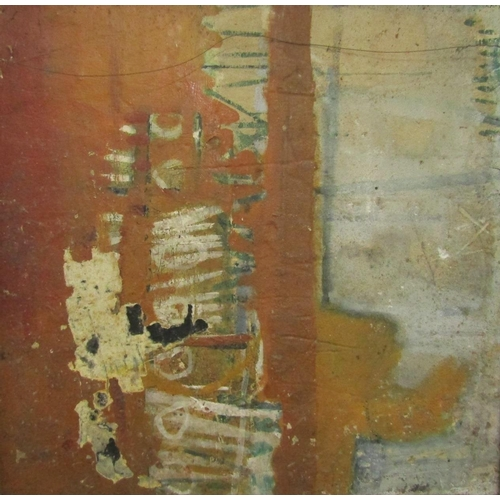 567 - George Fredericks (1929-2006) - Abstract thick impasto study, unsigned, work on board, 60 x 60cm, fu...