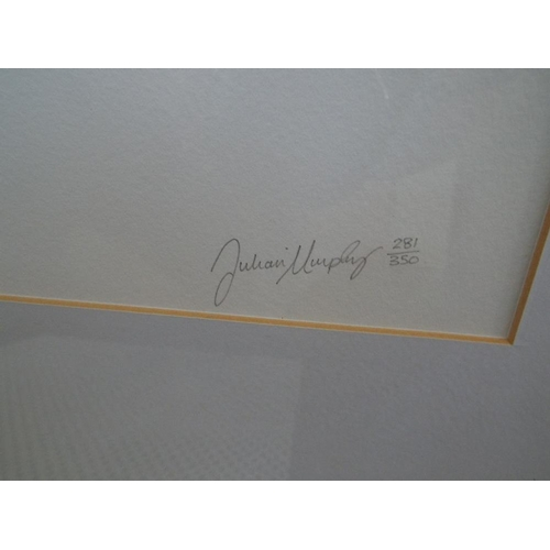 528 - Julian Murphy (Born 1959) - 'Virgin and Naive', and 'Slave Unit', both signed, 281/350 and 281/350 l...