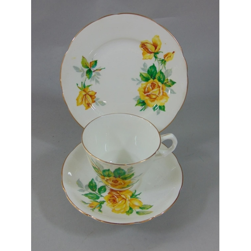 1033 - A collection of Royal Albert Old Country Roses pattern wares comprising a two tier cake stand, furth...