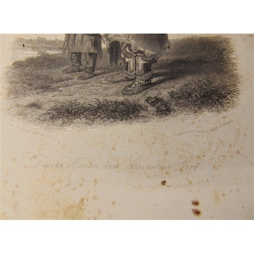 380a - 2 x 19th steel engraving drawn by Charles (Karl) Bodner and engraved by Rawdon Wright & Hatch – Ptih...
