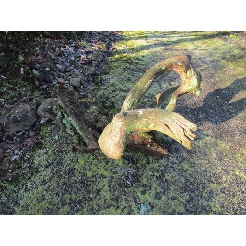 1961 - Oak log 100 cm long...