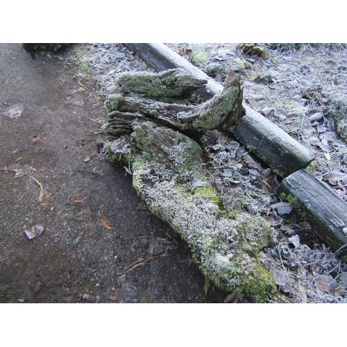 1965 - Oak log 110 cm long...
