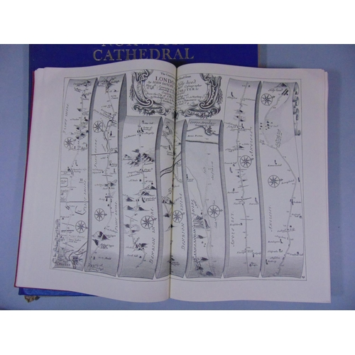 462 - Ogilby's Road Maps Of England & Wales 1675 published by Osprey Publications Ltd, Reading, 1971 toget...