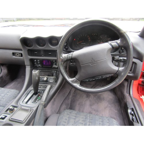 2129 - Mitsubishi GTO MK2 M386UJM 1995 (first registered in UK 2000) automatic 160km. SORN, no MOT but only...