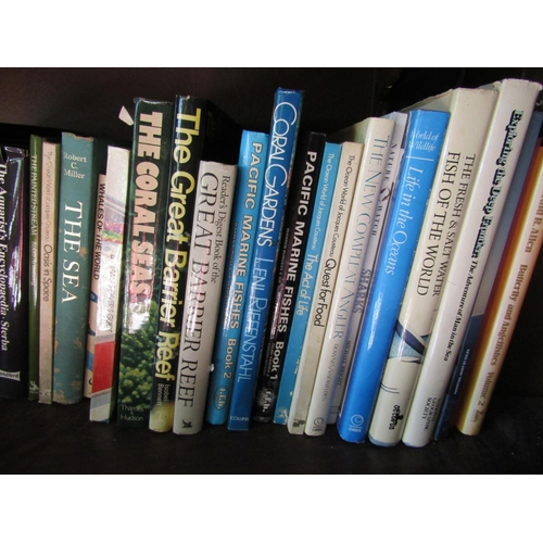 123 - Bookcase C - A large quantity of contemporary books, of good quality, manly the natural world includ...