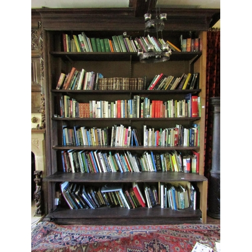 124 - Bookcase D - A large quantity of good quality contemporary books, principally garden, ancient histor...