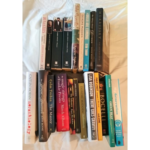 5 - Music and Literature 2 small boxes  c20 Volumes....